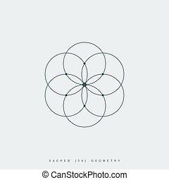 géométrie, sacré