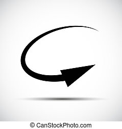 géométrie, symbole, signe, flèche, math, icône