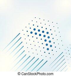 géométrique, background-3, réseau, résumé