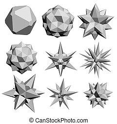 géométrique, figures
