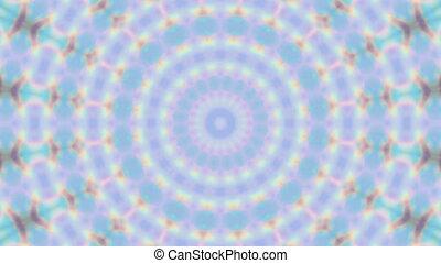 géométrique, film, vivant, kaléidoscopique, papier peint, ...