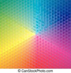géométrique, fond