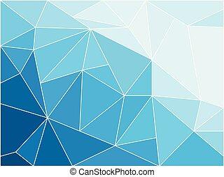 géométrique, fond, image, résumé, vecteur
