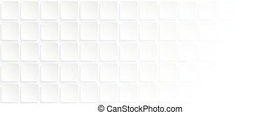 géométrique, impression, papier, site web, carrée, fond blanc, style., usage, art, bannière, couverture, ads.