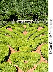 géométrique, jardin