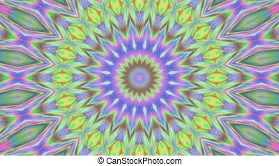 géométrique, papier peint, ornement, kaléidoscopique,...
