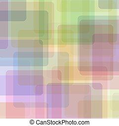 géométrique, pattern., coloré
