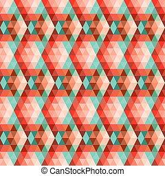 géométrique, pattern., seamless