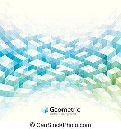 géométrique, résumé, fond