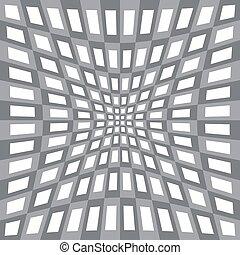 géométrique, résumé, modèle