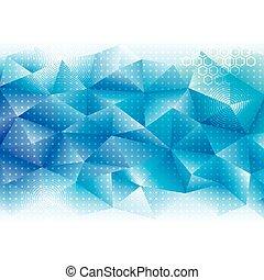 géométrique, technologie, fond