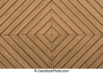 géométrique, texture bois