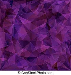 géométrique, triangles, modèle fond