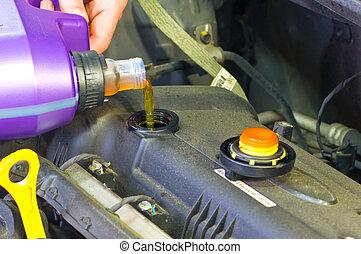 gép, összeadás, olaj, autó