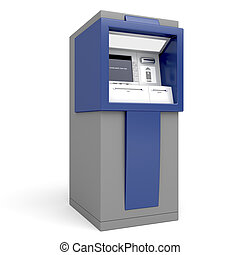 gép, bankpénztáros, automatizált