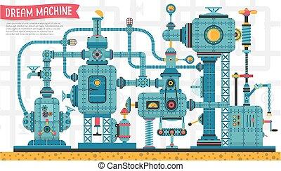 gép, steampunk, gépezet
