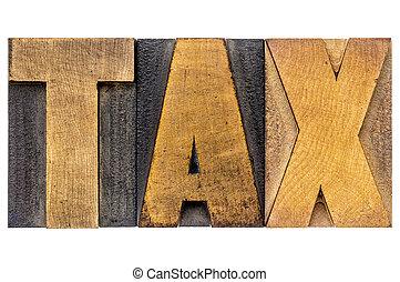 gépel, adót kiszab, erdő, szó
