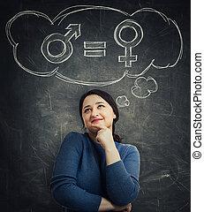gênero, conceito, igualdade