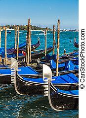 góndolas, italia, venecia