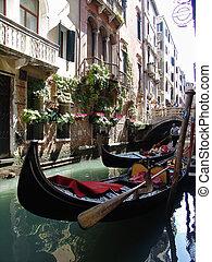 góndolas, venecia