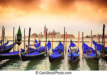 góndolas, venezia
