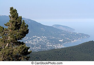 góra, aypetri, prospekt
