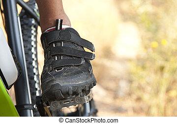 góra biker, rower