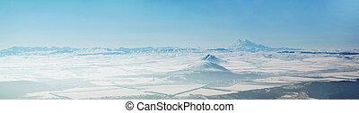 góra, panoramiczny
