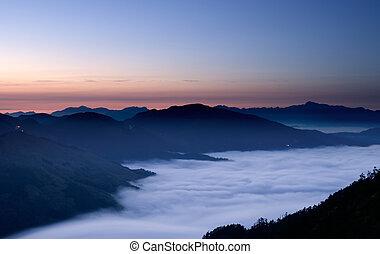 góra, spokojny