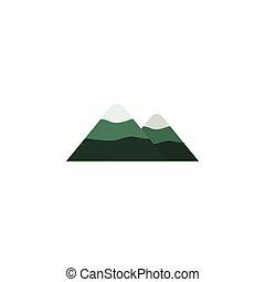 góra, używany, wieżyczka, czuć się, concept., odizolowany,...