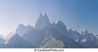 góra, zdumiewający