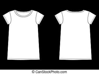 górny, trójnik, część garderoby, rys