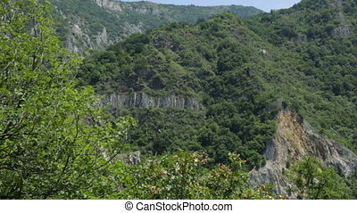 górski krajobraz, bułgaria