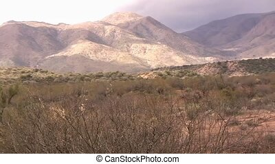 góry, pustynia