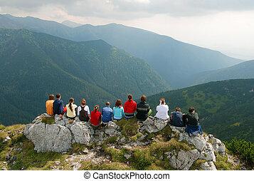 góry, slovakia, krajobraz