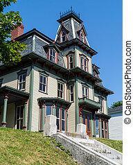 gót, viktoriánus, otthon