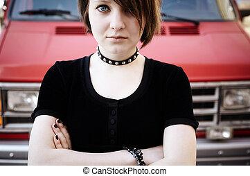 gótico, adolescente