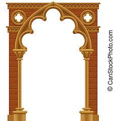 gótico, arco