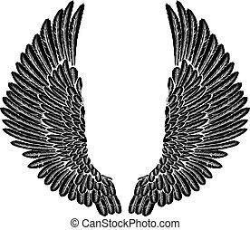 gótico, asas