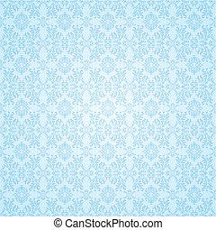 gótico, azul, seamless, papel parede