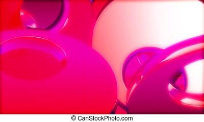 gömb, rózsaszínű, fehér