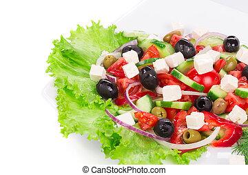 görög, salad.