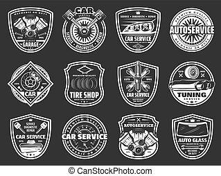 gördít, rendbehozás, szolgáltatás, autó, autógumi, alkatrészek, kímél, autó