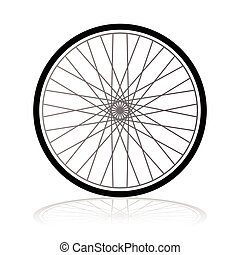 gördít, vektor, bicikli