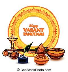 göttin, panchami, fest, vasant, hintergrund, indien, saraswati, weisheit