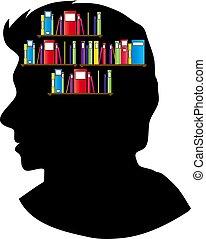 głowa, książka