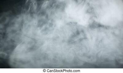 gőz, alapján, e-cigarette, képben látható, black háttér