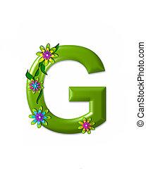 g, alfabeto, wonderland