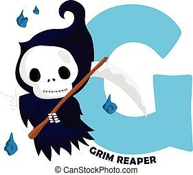 G for Grim Reaper
