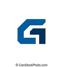 Vector Real Estate Initial Letter G Logo Design Template G